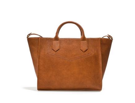 Shopper Capazo Zara 29.95 euros