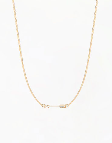 Collar Flecha Bershka 3,99 euros