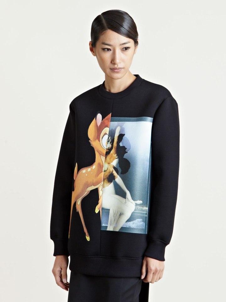 Sudadera Black Bambi Givenchy 885 euros