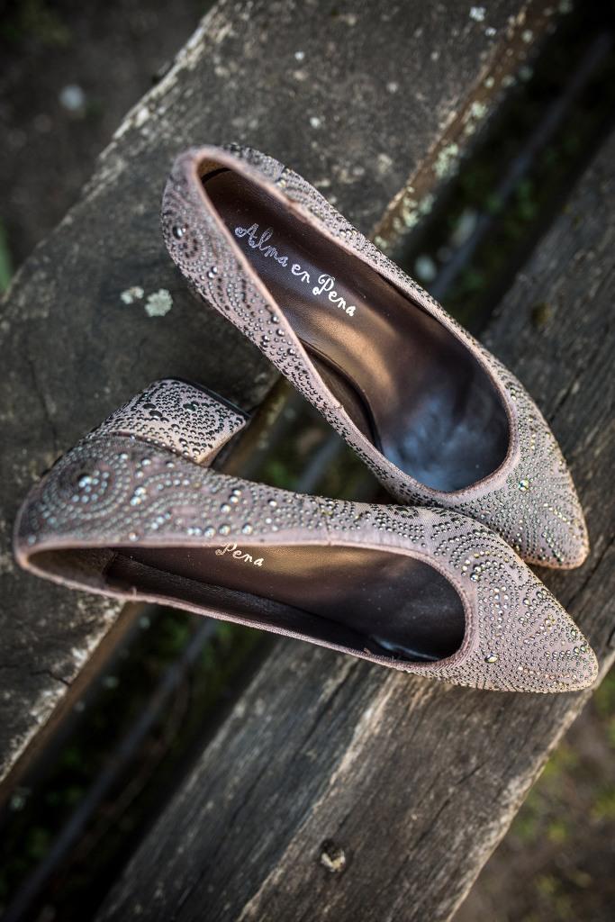 bf52f19e489b Mis zapatos de novia más especiales fueron de Alma en Pena